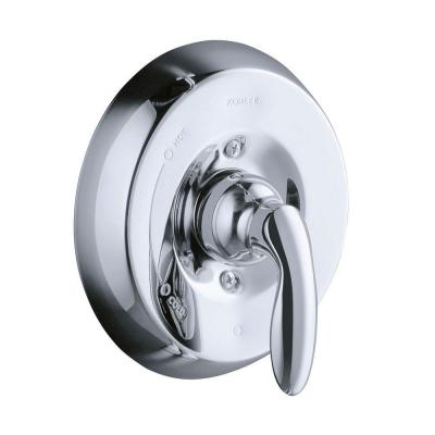 Coralais 1-Handle Valve Trim Kit with Lever Handle in Polished Chrome (Valve Not Included)