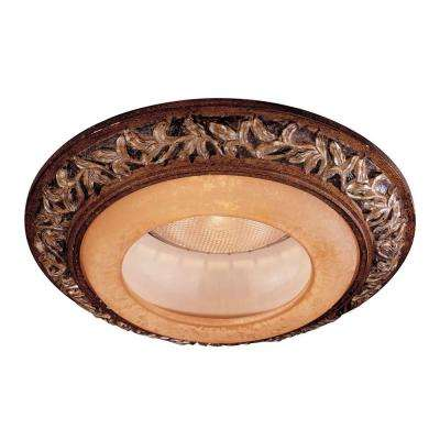 6 in. Florence Patina Recessed Can Trim