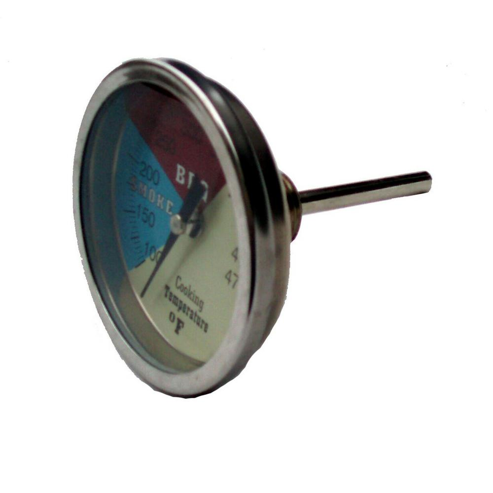 Old Smokey 2 in. Stainless Steel Replacement Temperature Gauge