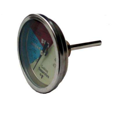2 in. Stainless Steel Replacement Temperature Gauge