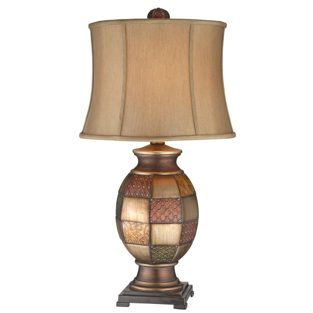 Filament Design Sonoma 31 in. Mosaic Gold Table Lamp (Set of 2)