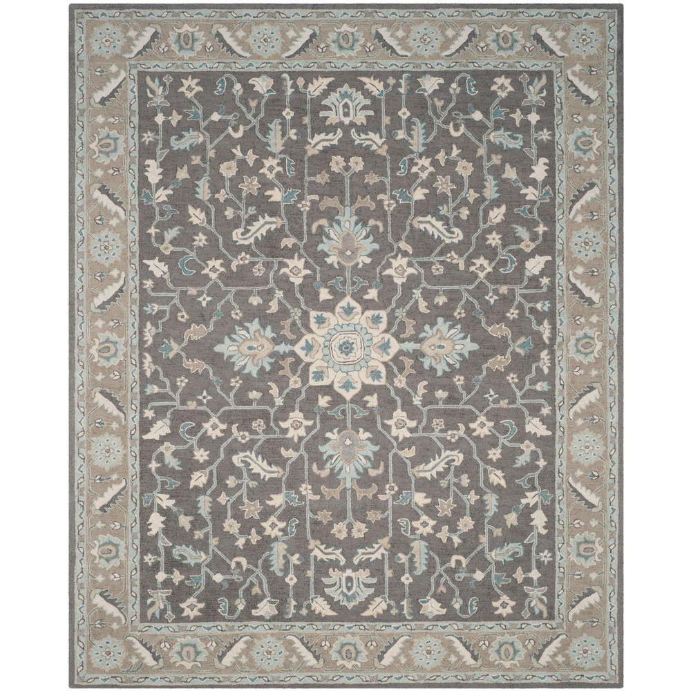 This Loomed Rug Offers Luxurious Comfort And Unique Styling With A Raised High Low Pile