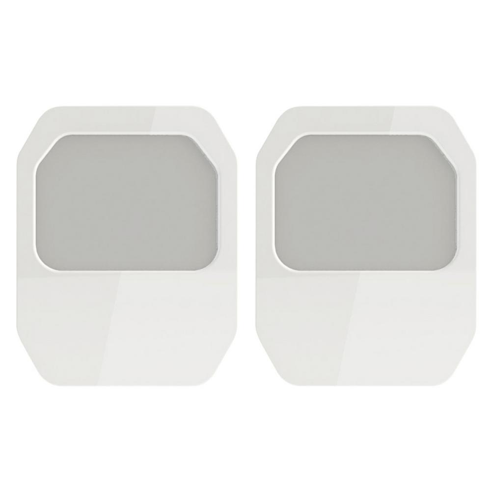 White Always On Panel Led Night Light 2 Pack