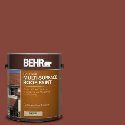 1 gal. #RP-26 Spanish Tile Flat Multi-Surface Roof Paint