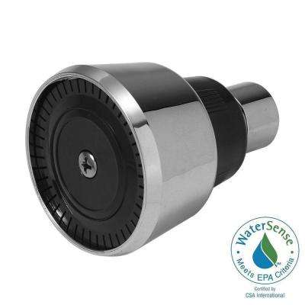 Mixet 1-Spray WaterSense 2.34 in. Showerhead in Chrome