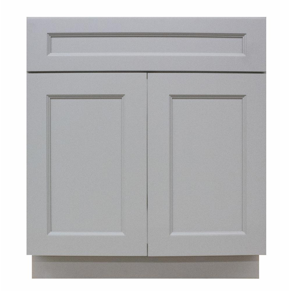 Gray Kitchen Cabinets Home Depot: Krosswood Doors Modern Craftsman Ready To Assemble