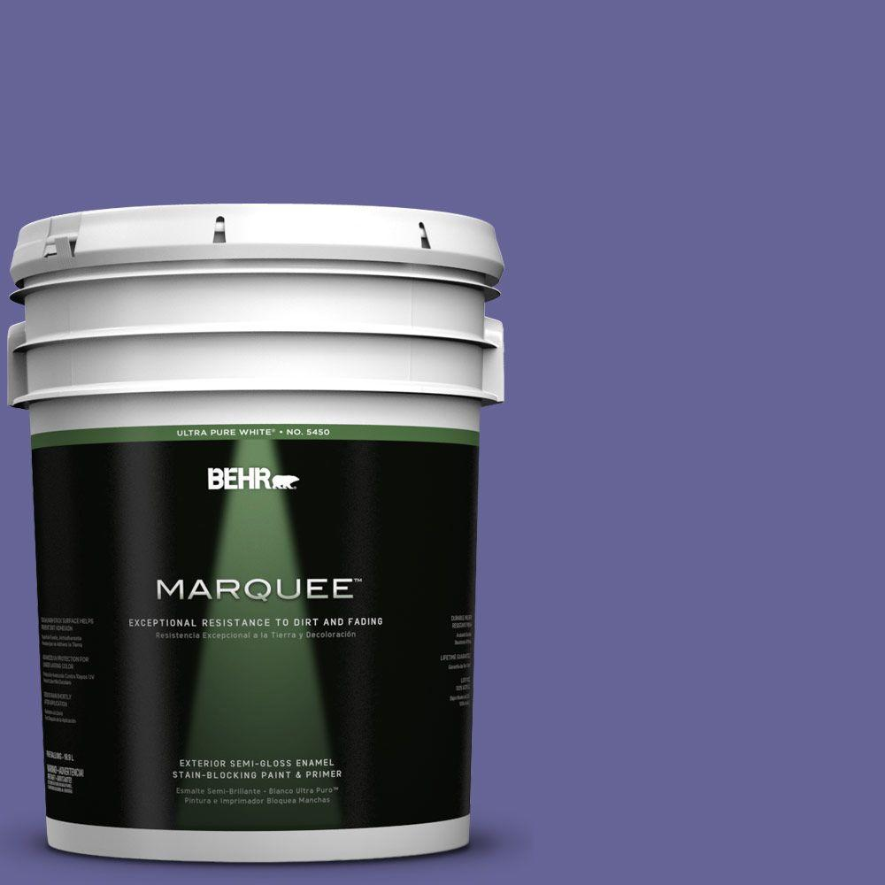 Behr marquee 5 gal t15 13 prime purple semi gloss enamel - Behr marquee exterior paint reviews ...