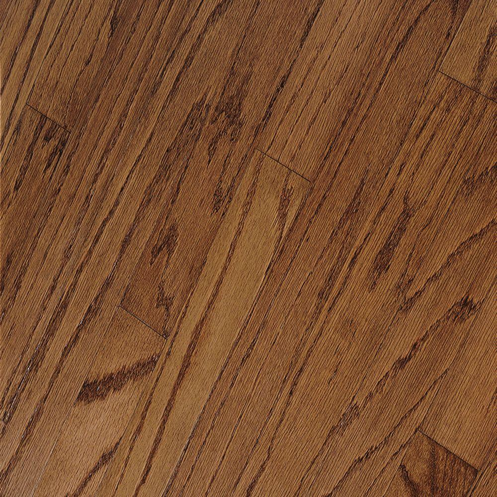 Bruce oak mellow 3 8 in thick x 3 in wide x random for Bruce hardwood flooring