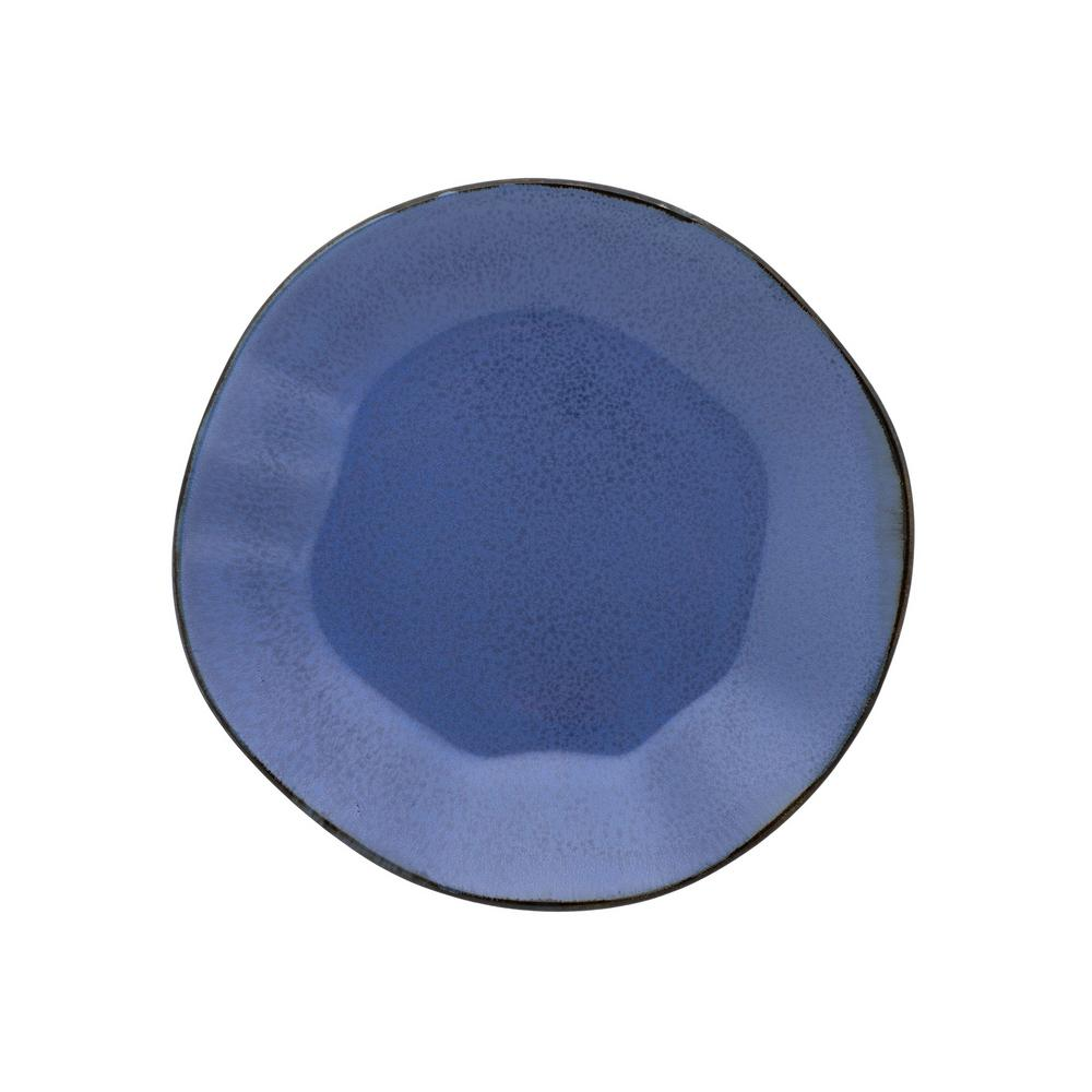 Manhattan Comfort 8.46 in. RYO Blue Salad Plates (Set of 6) was $79.99 now $45.81 (43.0% off)