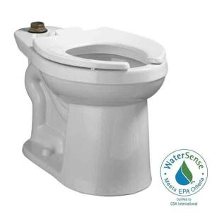 American Standard Right Width FloWise Elongated Toilet Bowl Only in White by American Standard