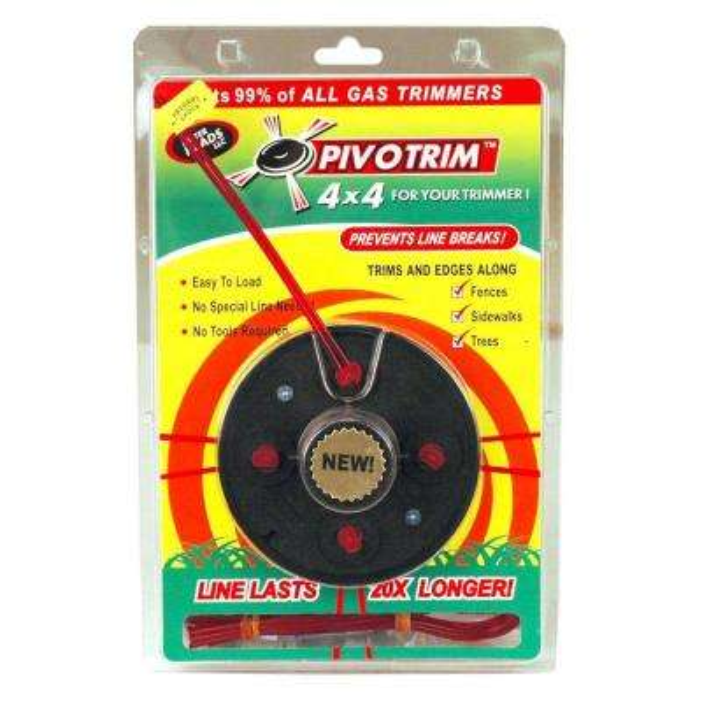 Pivot-Trim 4 in. x 4 in. Trimmer Head