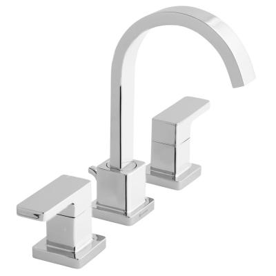 Marx 8 in. Widespread 2-Handle High-Arc Bathroom Faucet in Chrome
