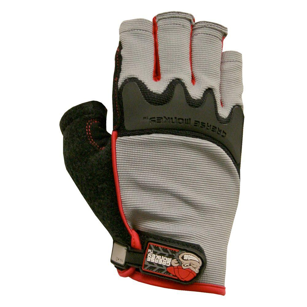 Grease Monkey Large Fingerless Glove