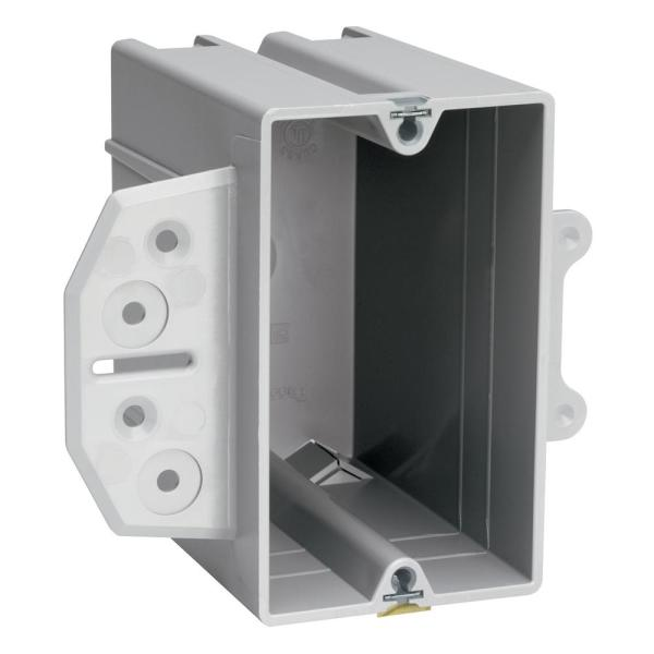 Pass /& Seymour S1-18-W 1-Gang Old Work Switch//Outlet Box w//Quick Click