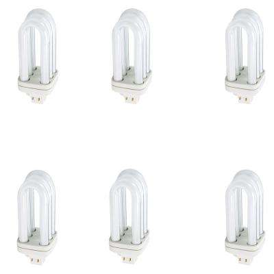 32-Watt Equivalent CFLNI PL-T Alto 4-Pin Light Bulb Bright White (3500K) (6-Pack)