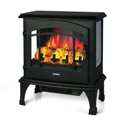 Suburbs  TS23 20 in.  Freestanding  Electric Fireplace in Black