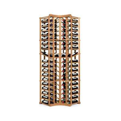N'Finity 72-Bottle Natural Floor Wine Rack