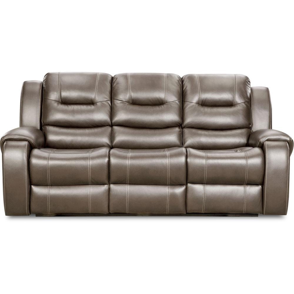 Clark Gray Power Sofa