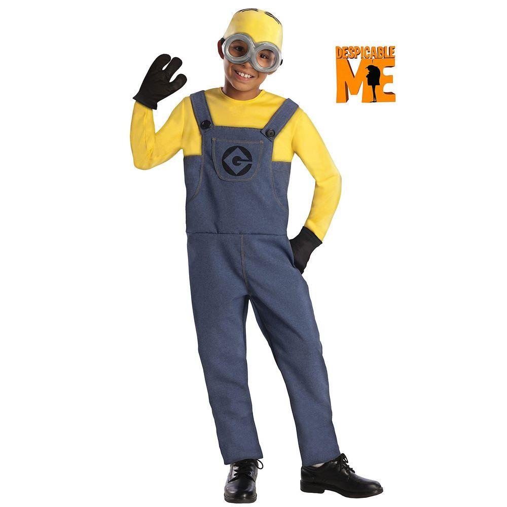 Minions Halloween Costume.Rubie S Costumes Small Boys Minion Dave Costume