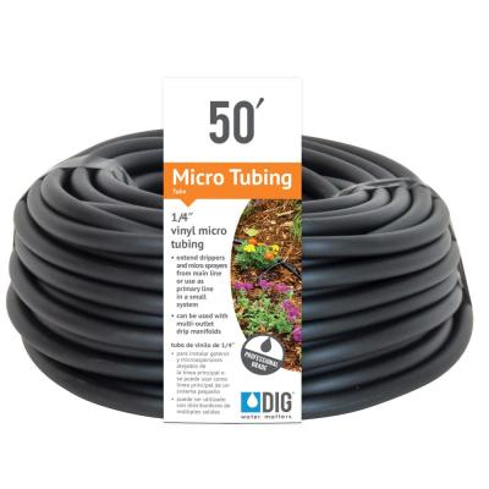 1/4 in. x 50 ft. Vinyl Micro Drip Tubing