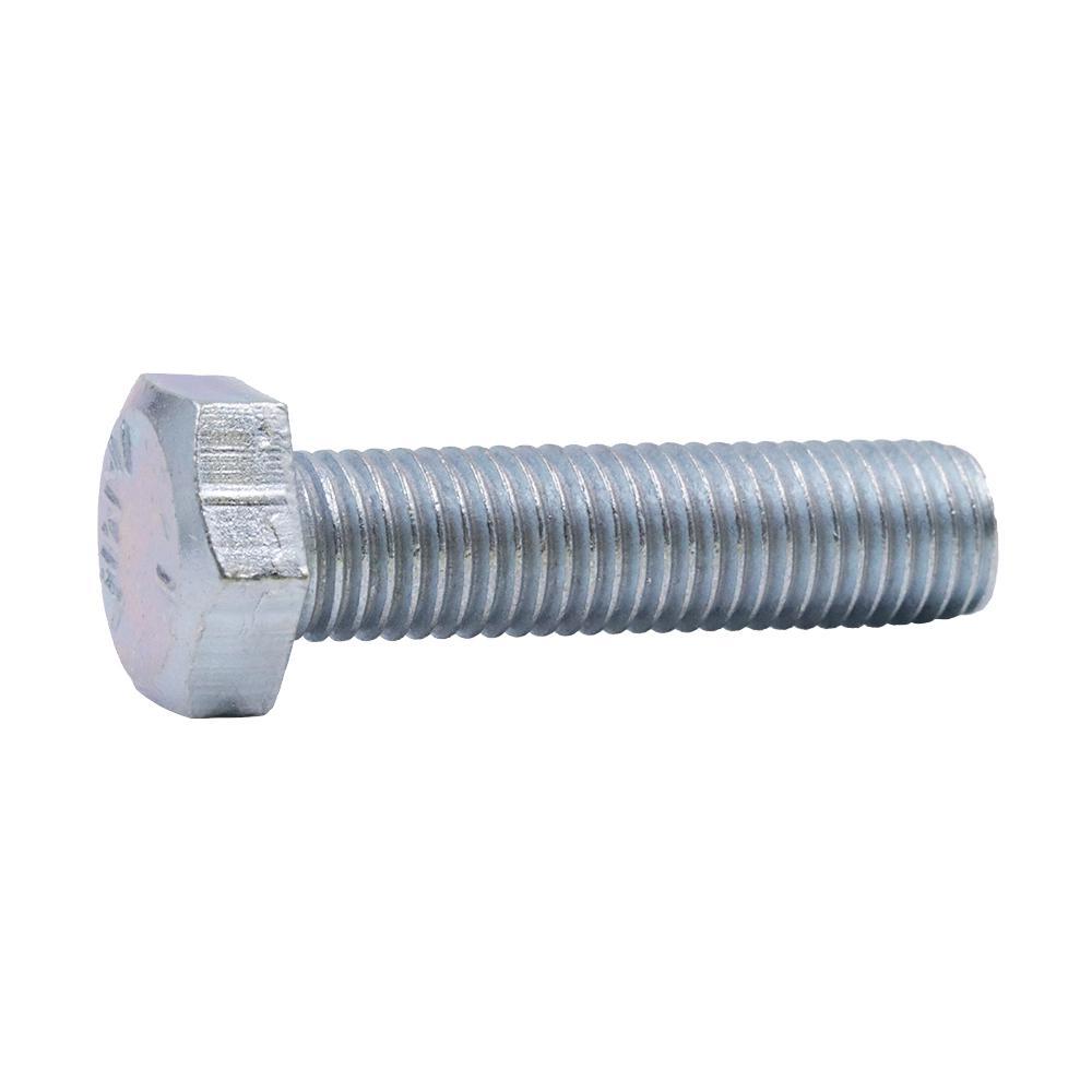 5/16 in  -24 tpi x 1-1/4 in  Fine Zinc-Plated Steel Hex Cap Screw (1-Pack)