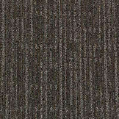 Planner Gray Loop 24 in. x 24 in. Modular Carpet Tile Kit (18 Tiles/Case)