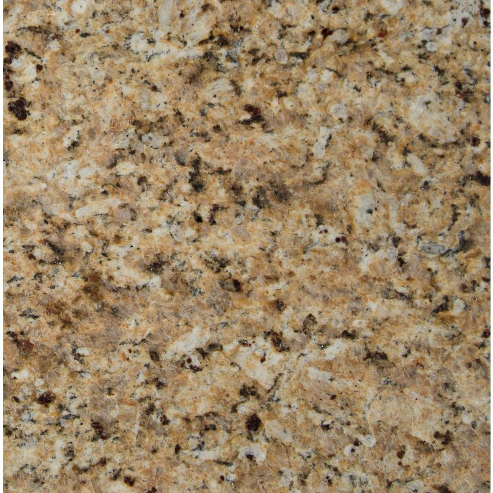 Msi St Helena Gold 12 In X 12 In Polished Granite Floor