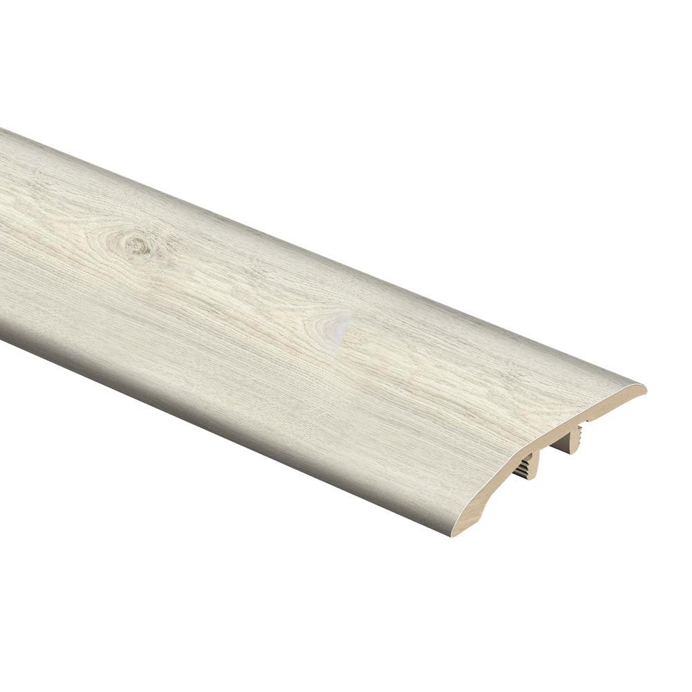 Ocala Oak/Chiffon Lace Oak/Salt Shore Wood 1/3 in. T x 1-13/16 in. W x 72 in. L Vinyl Multi-Purpose Reducer Molding