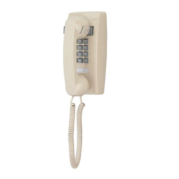 Wall Corded Telephone with Volume Control - Ash