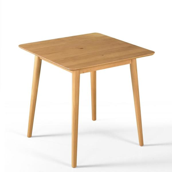 Pine Mid-Century Small Dining Table