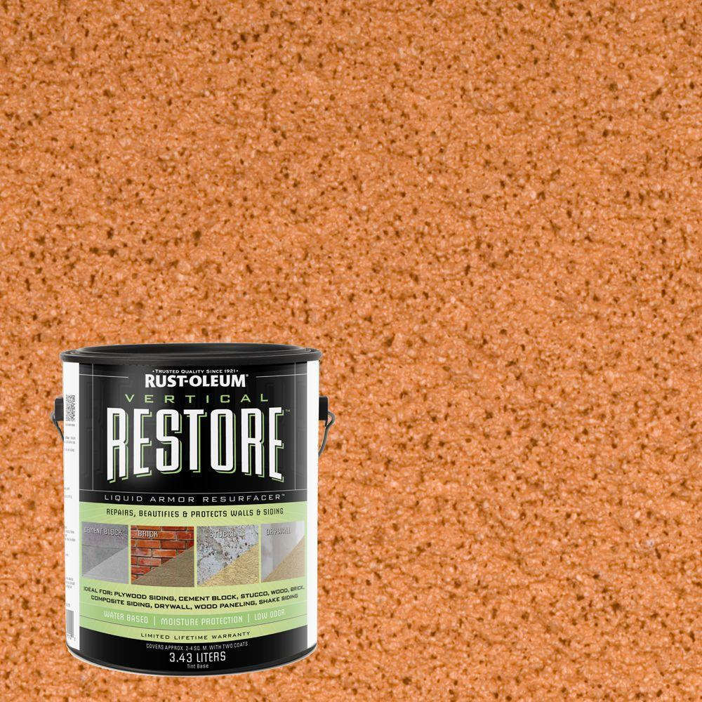 1-gal. Cedartone Vertical Liquid Armor Resurfacer for Walls and Siding