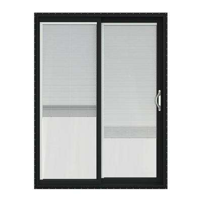 60 in x 80 in v 2500 series vinyl sliding patio door with - 60 Patio Door