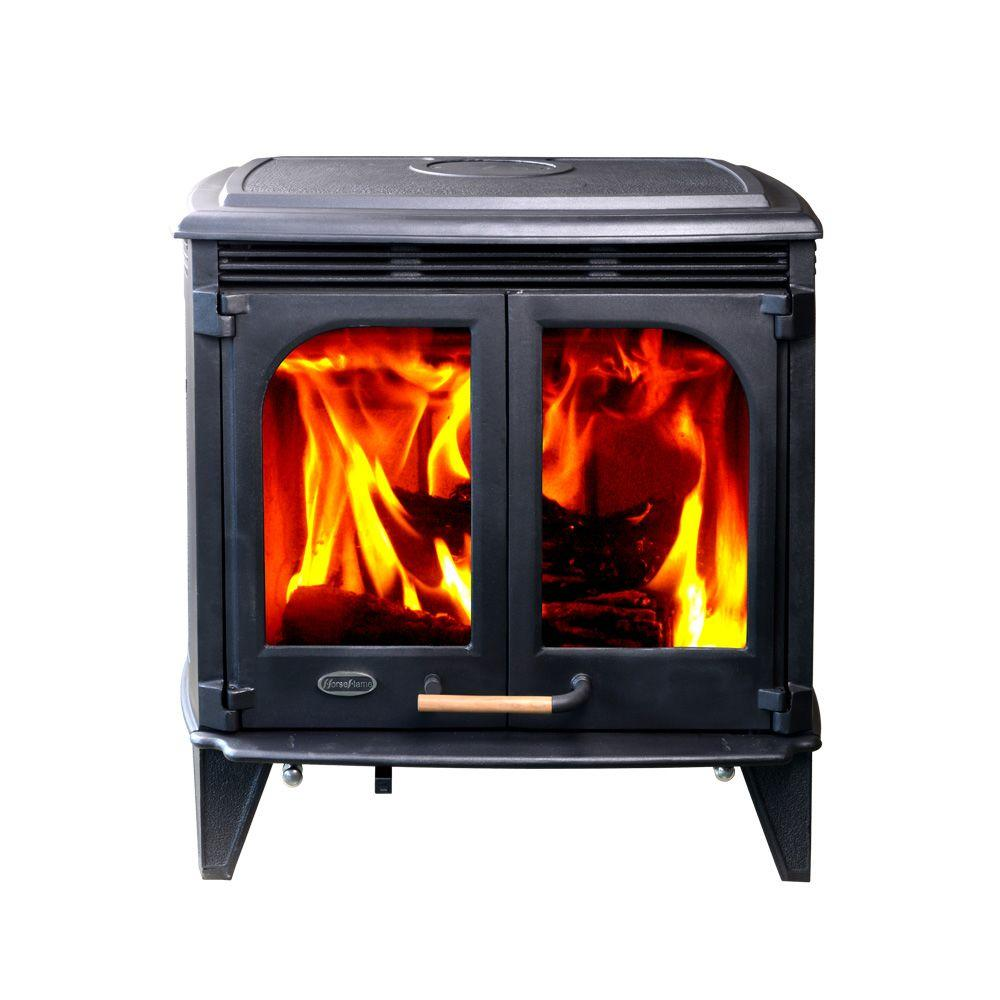 2500 sq. ft. Mustang Extra Large Wood-Burning Stove