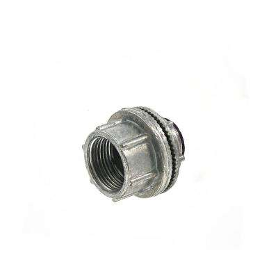 Watertight 3/4 in. Conduit Hub for use with Intermediate Metal Conduit (IMC) or Rigid Conduit, Zinc