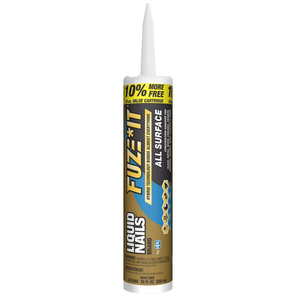 Liquid Nails Fuze It 10 oz. All Surface Construction ...