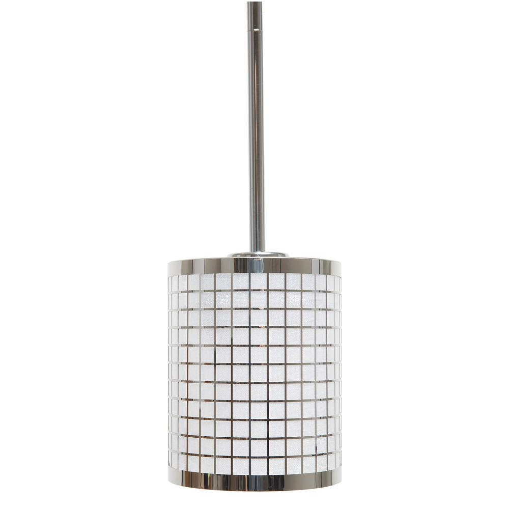 Summer Hill Collection 1-Light Chrome Pendant