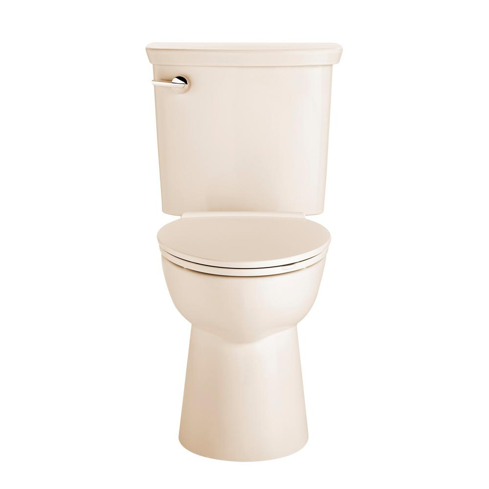 Vormax Right Height 2-Piece 1.28 GPF Single Flush Elongated Toilet in