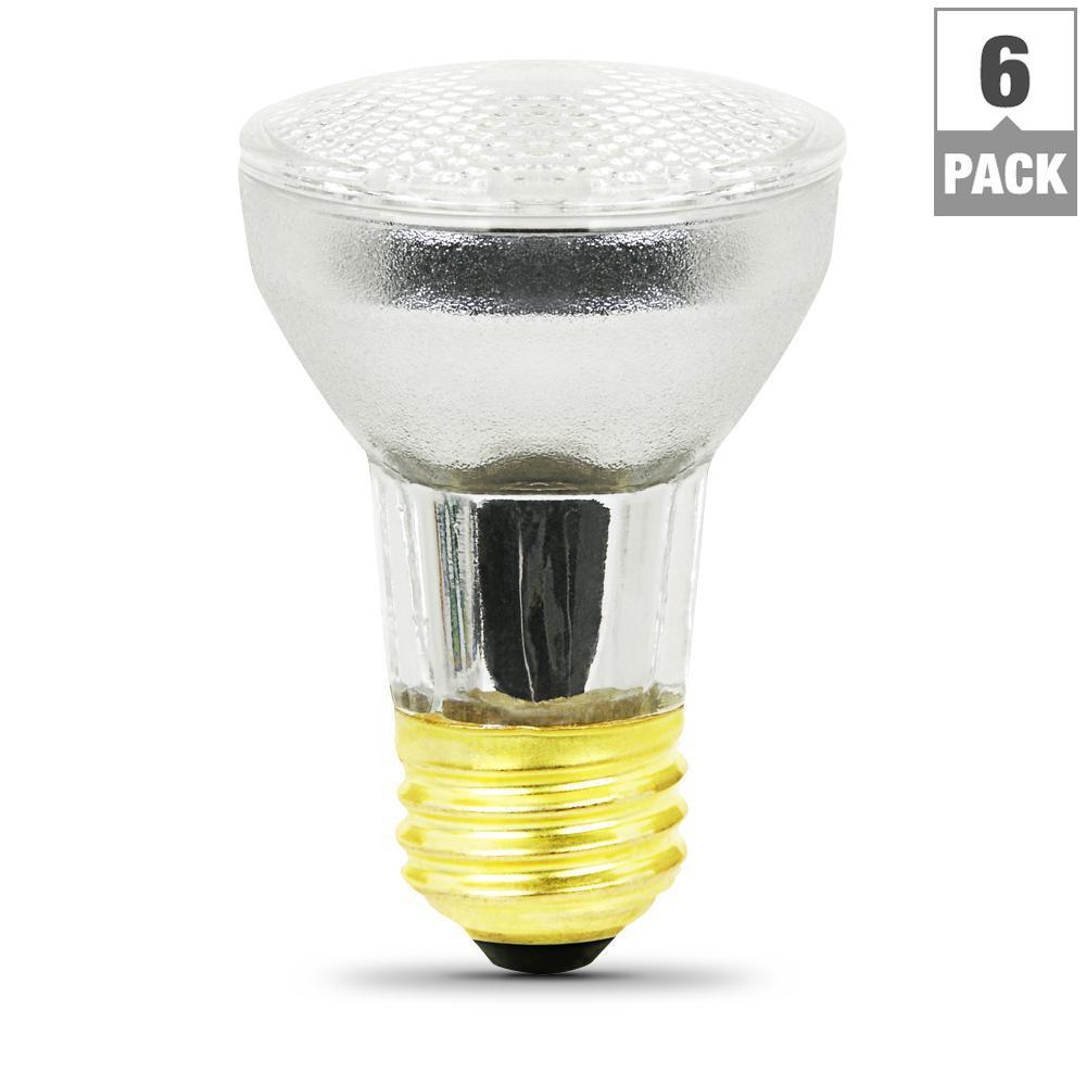 60-Watt Halogen PAR16 120-Volt Light Bulb (6-Pack)