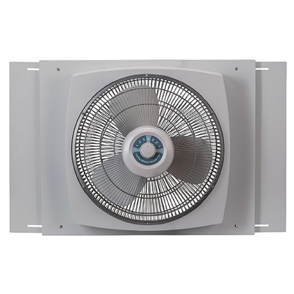 Lasko 16 In Window Fan With Ez Dial Ventilation W16900