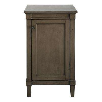 Rosecliff 20 in. W x 35 in. H Floor Cabinet in Distressed Grey