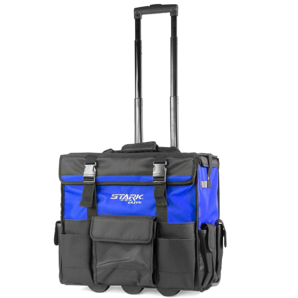 20 in. x 12 in. Jobsite Rolling Tool Bag Backpack