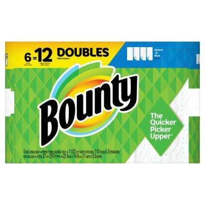 Select-A-Size White Paper Towels (6 Double Rolls)