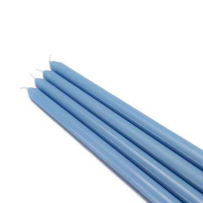 12 in. Light Blue Taper Candles (12-Set)
