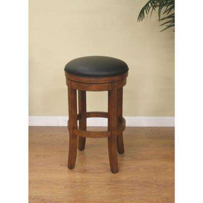 Winston 26 in. Amaretto Cushioned Bar Stool