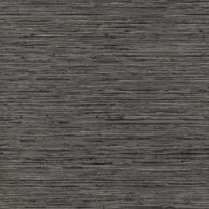 Roommates 28 18 Sq Ft Grasscloth Grey Peel And Stick Wallpaper Rmk11313wp The Home Depot