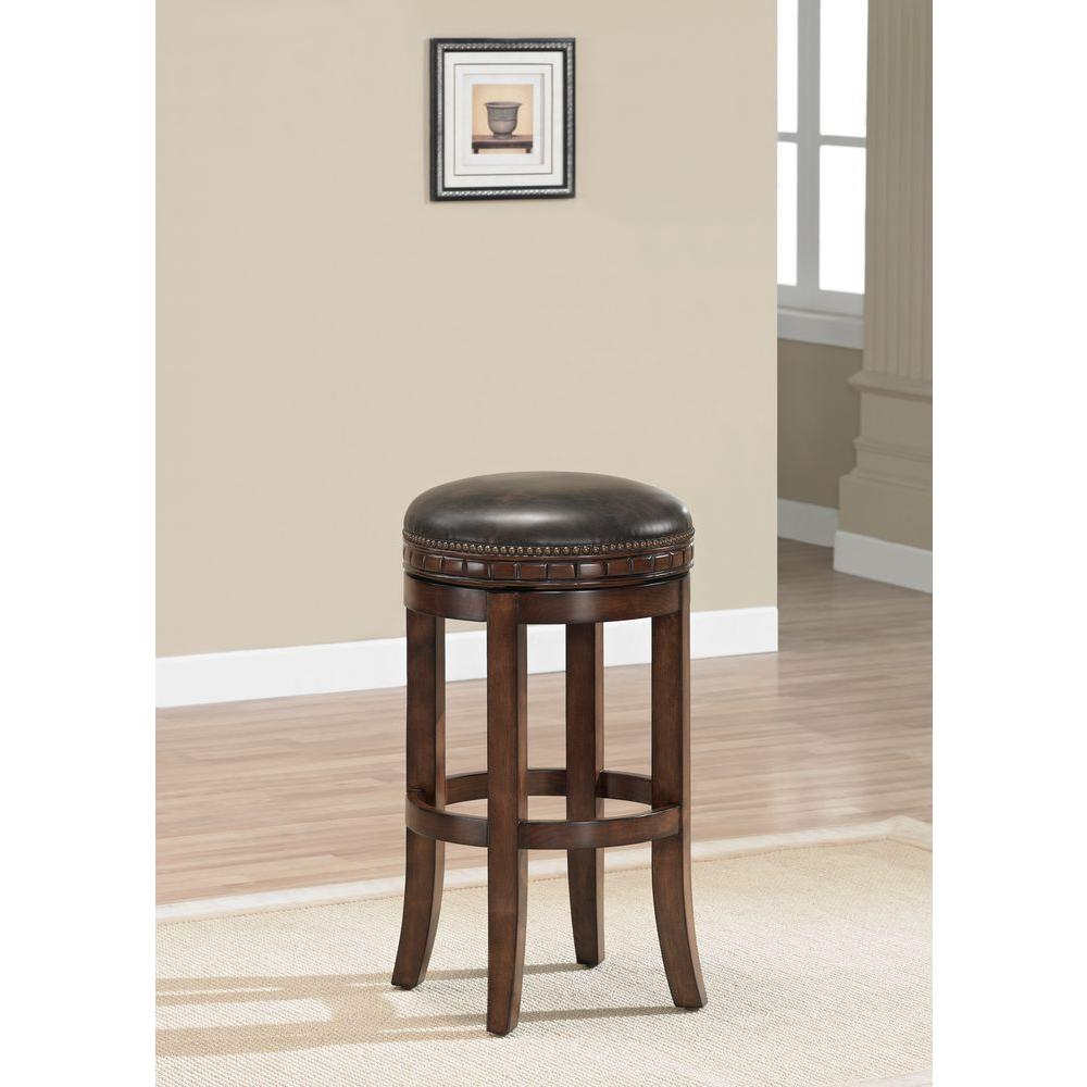American Heritage Sonoma 30 in Suede Cushioned Bar Stool  : suede american heritage bar stools 111146 641000 from www.homedepot.com size 1000 x 1000 jpeg 68kB