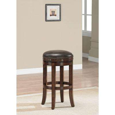 Sonoma 30 in. Suede Cushioned Bar Stool