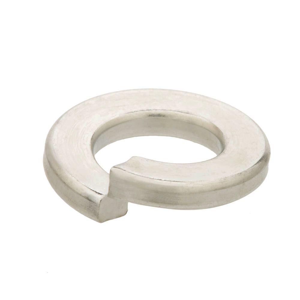 100-Piece 3/8 in. Zinc-Plated Split Lock Washer