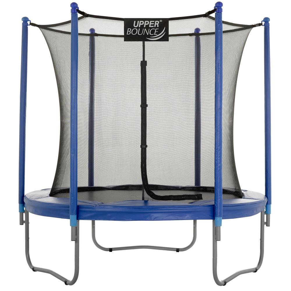 Trampoline Parts Walmart: Upper Bounce 7.5 Ft. Trampoline And Enclosure Set Equipped