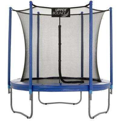 7.5 ft. Trampoline and Enclosure Set Equipped with Easy Assemble Feature